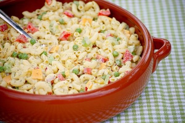 Wonderbaar Macaroni salade met dille en piccalilly - Onze Franse keuken XN-05