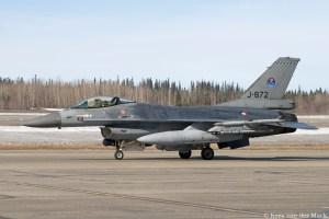 F-16 J-872 in Alaska