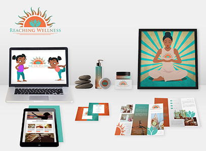 wellness branding  that converts designs