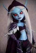 Lady Sylvanas - those eyes!
