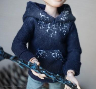 And frozen hoodie...