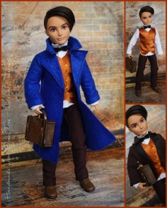 Fantastic beasts and where to find them - 1/6 scale outfiit for Monster High or Ever After High doll