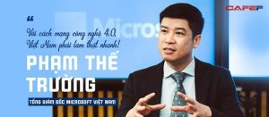 Tổng giám đốc Microsoft Việt Nam: Người Việt có khả năng nắm bắt công nghệ tốt
