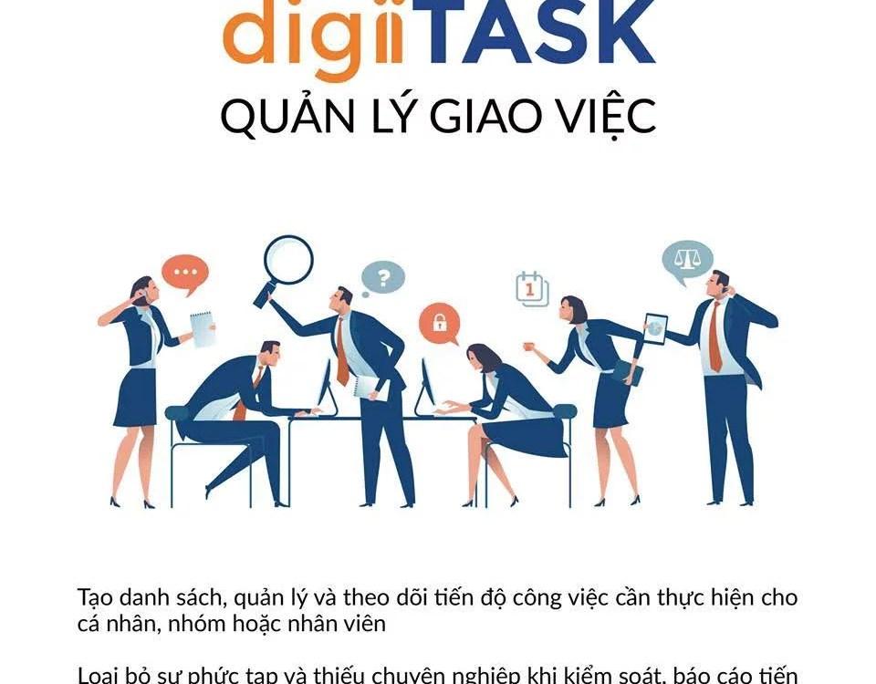 digiiTASK Quản lý giao việc