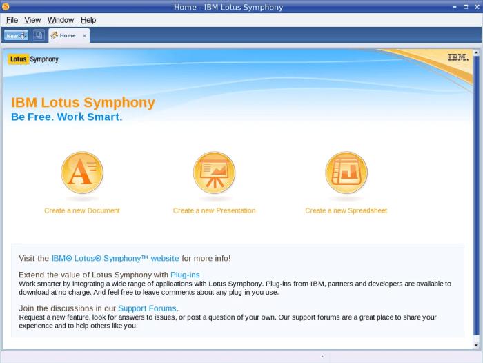 Lotus Symphony