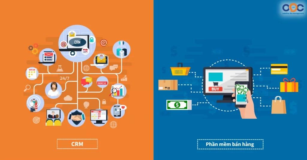 Bản chất của 2 phần mềm bán hàng và phần mềm CRM