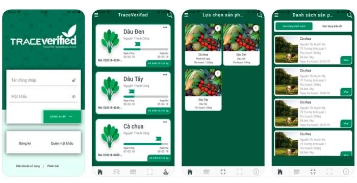 TraceFarm- Phần mềm quản lý sản xuất nông nghiệp