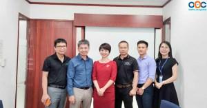 Lễ ký kết thỏa thuận hợp tác giữa OOC và Tổng Công ty Công nghệ và Giải pháp (CMC TS) CMC