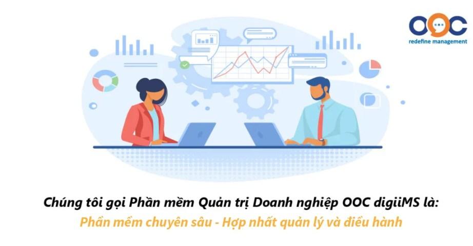 OOC digiiMS - Phần mềm hợp nhất, quản lý và điều hành