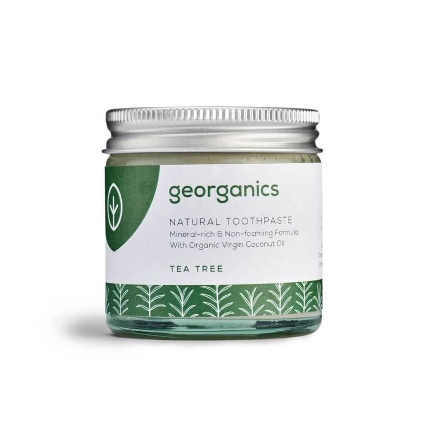 georganics Natural Toothpaste Tea Tree 60ml