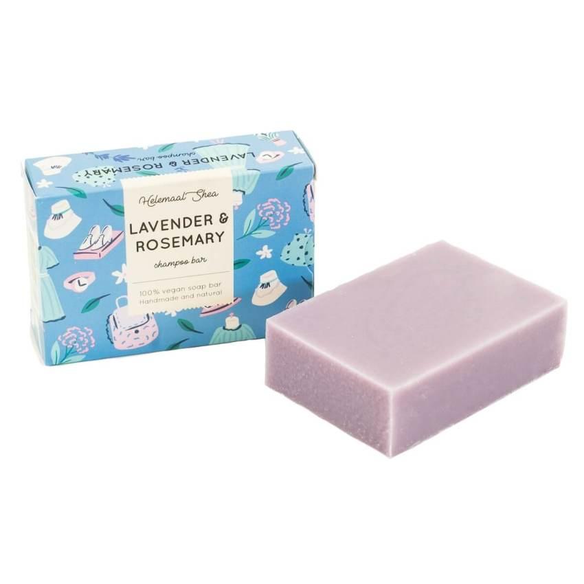 Lavendel Rozemarijn Haarzeep Helemaal Shea