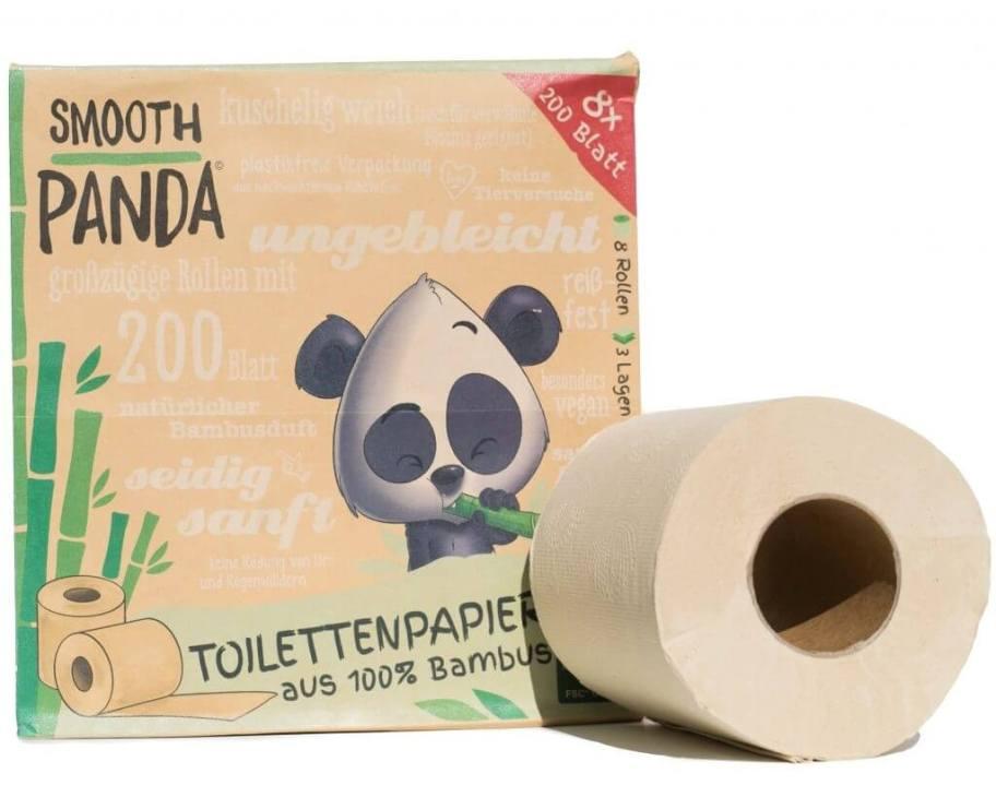 Bamboo Toilet papier, plastic vrij, veganistisch