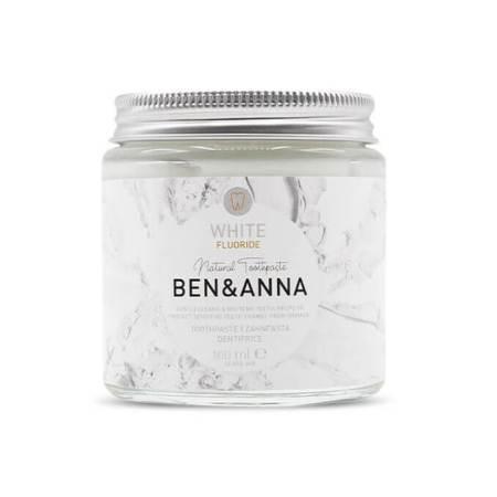 Ben & Anna Toothpaste with fluoride White