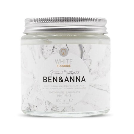 Ben & Anna Toothpaste with Fluoride White Zero Waste
