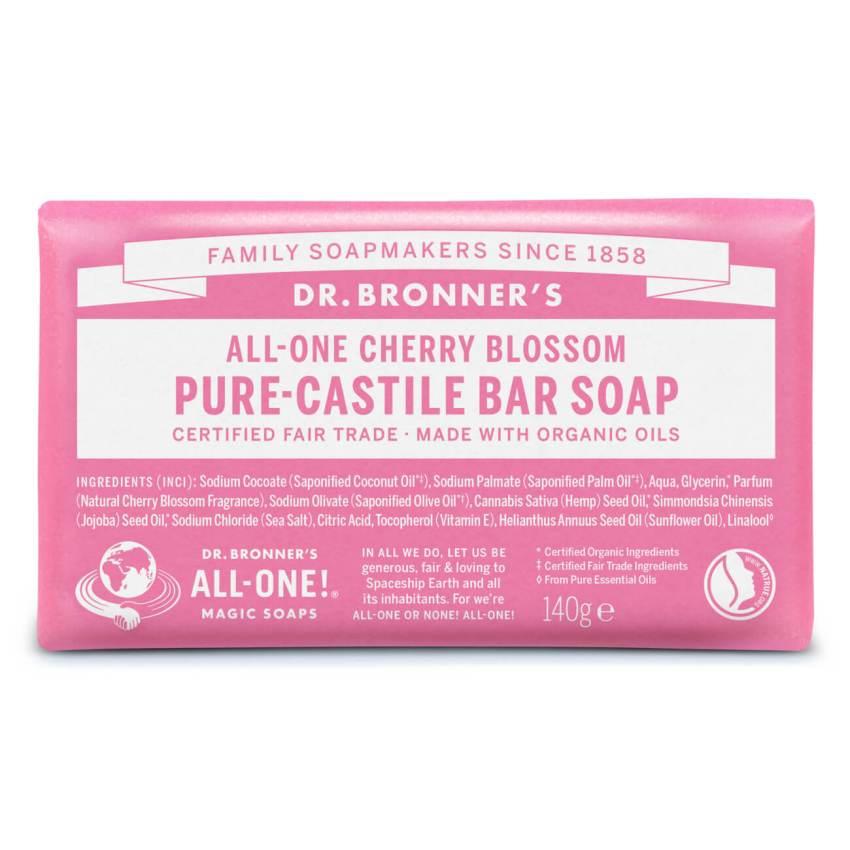 Dr. Bronner's Plantenzeep Kersenbloesem Pure Castile Zeep
