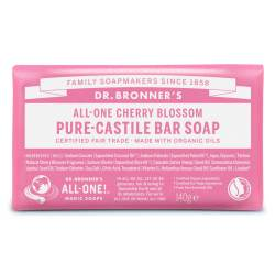 Dr. Bronner's Cherry Blossom Pure Castile Bar Soap