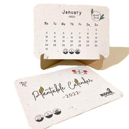Plantable Calendar 2022 - Bloom your message