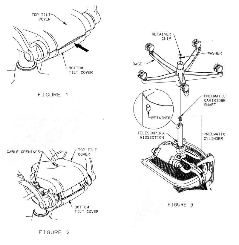 chair parts diagram