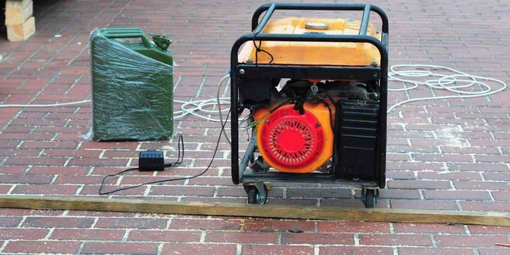 generator running out of fuel