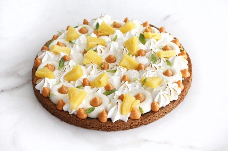 Pina Colada Tart