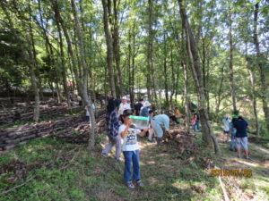 2015こうか連携の森親子体験