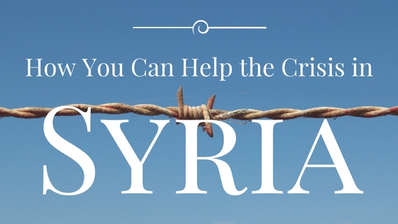 How You Can Help the Crisis in
