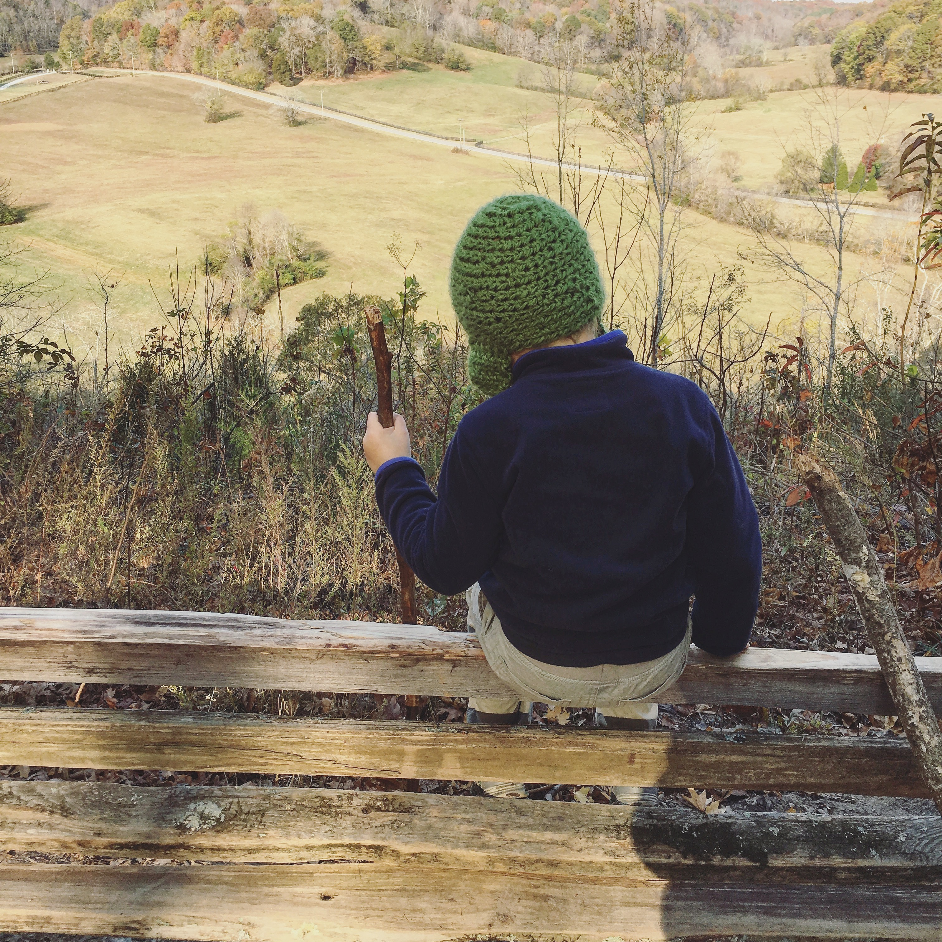 hiking the natchez trace with kids
