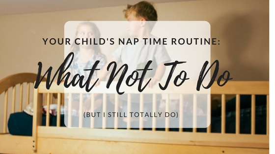 how to start a nap time routine