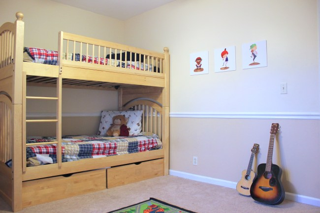 boys room decor neutral
