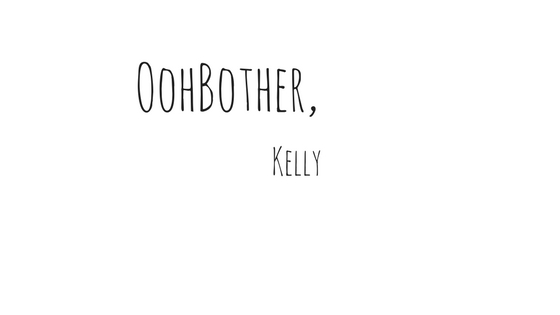 OohBother blog signature