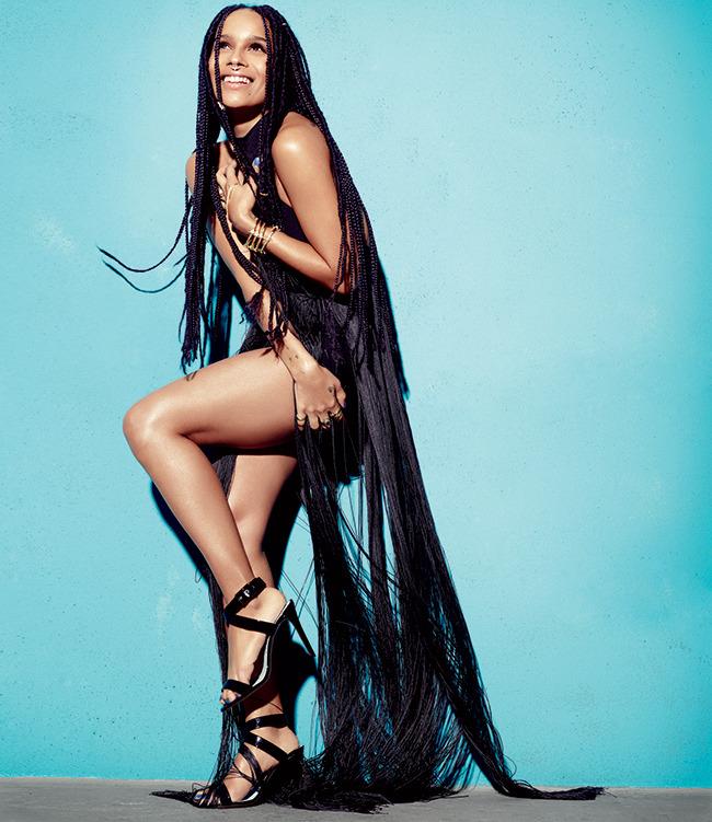 Zoe Kravitz Slays Ocean Drive Magazine Shoot