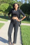 Style-Files-With-Pretty-Price-How-to-wear-a-Pinstripe-Suit-Black-white-casual-coners-thrifted-pant-suit-black-mesh-forever-21-mesh-crop-top-Just-Fab-Florence-Heels-5