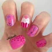 cupcake nails ooh la nail's