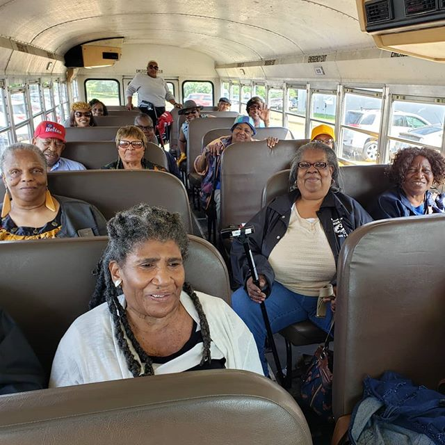 We provide free transportation to and from the community center each day as well as to doctor appointments as needed.
