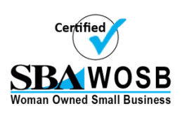 We are an SBA certified Woman Owned Small Business