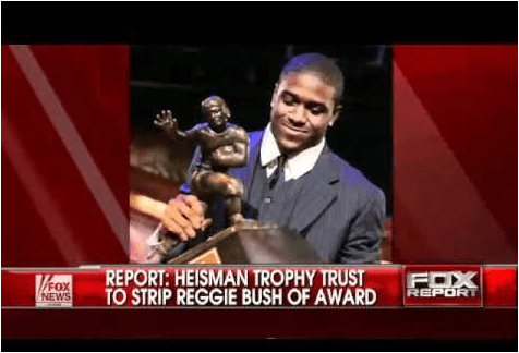 Fox Heisman stripped from Bush