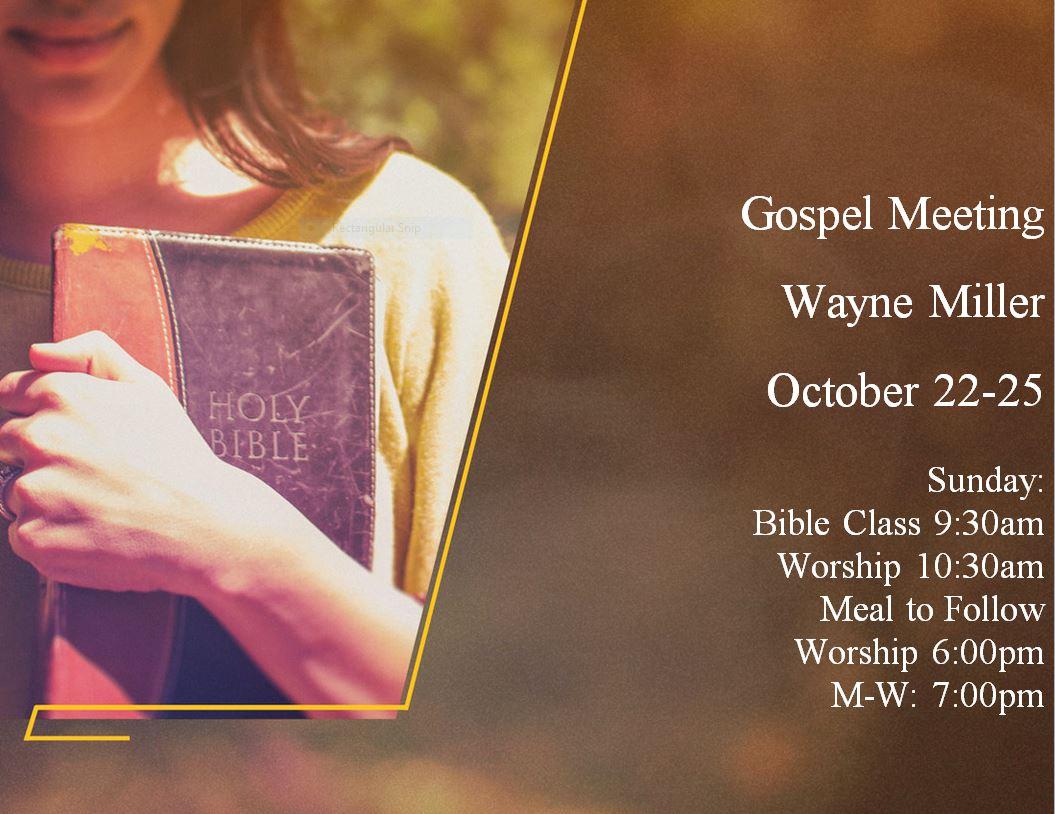 gospel meeting
