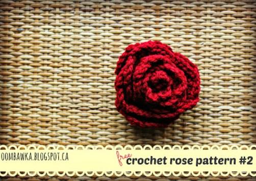 Rose Brooch Large Original