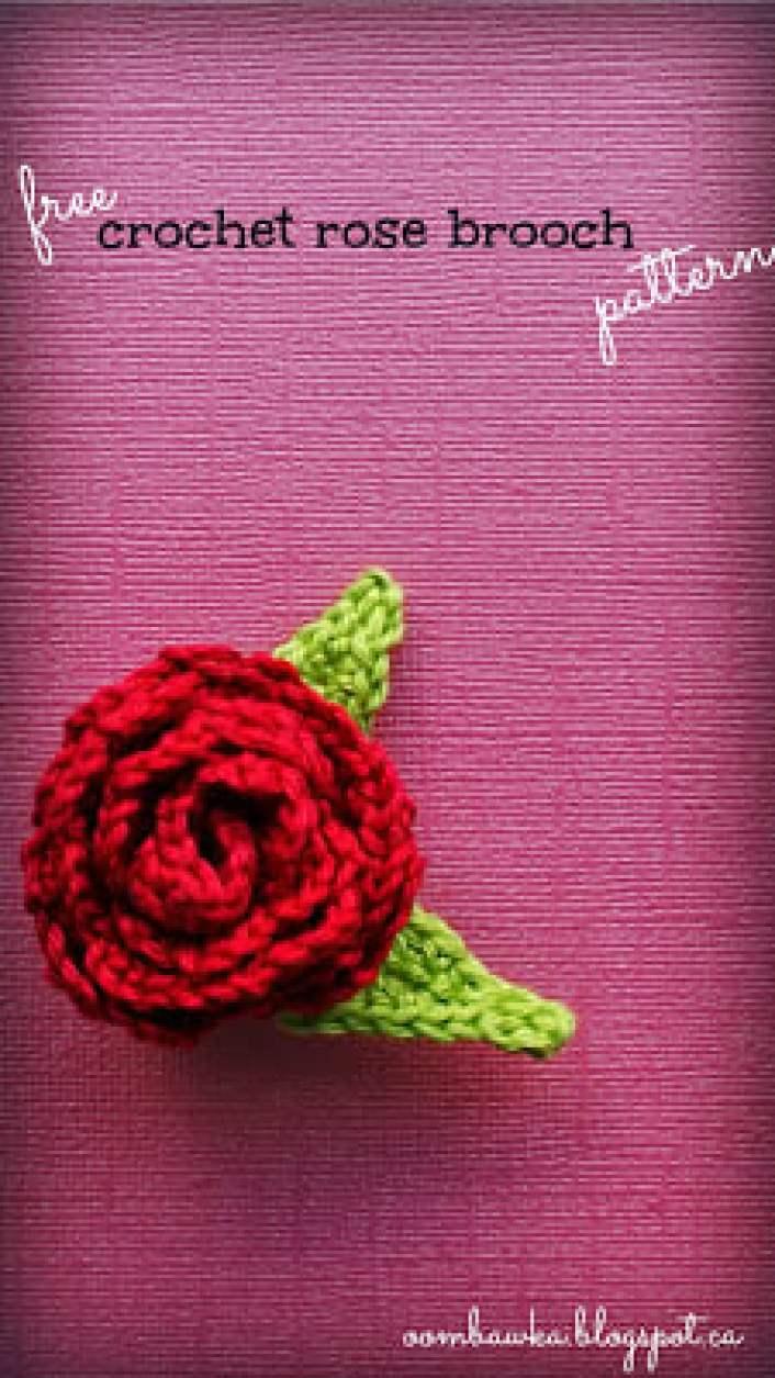 Rose Brooch Original