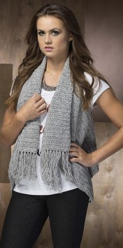 Boho Vest - Fringe Benefits by Melissa Leapman at Leisure Arts - Book Review