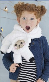 Lizzie The Lamb - Amigurumi Animal Scarves - Leisure Arts - eBook Review by Oombawka Design