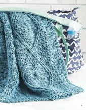 Luck of the Irish - On The Go Baby Blankets - Leisure Arts - Book Review by Oombawka Design Crochet