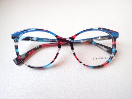 夏に向けてポップな眼鏡で遊んでみませんか?|アランミクリ(alain mikli)「A03069」