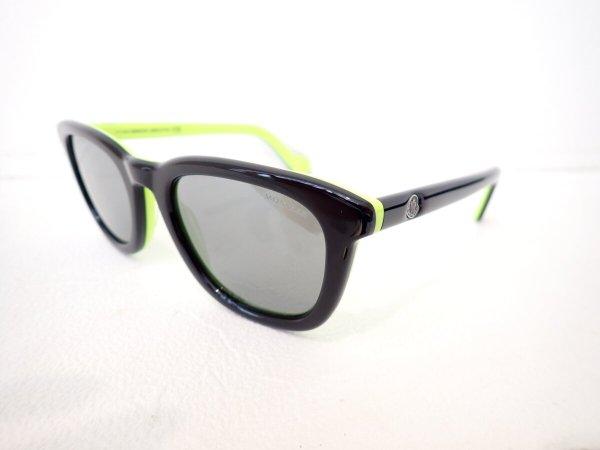 MONCLER(モンクレール)のイエローグリーン&ブラックカラーのサングラス|「ML0118」-MONCLER