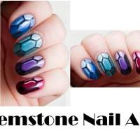 Fashion DIY :: Gemstone Nails
