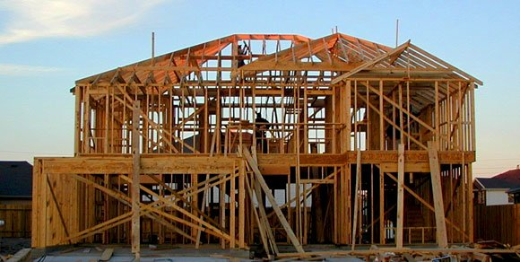 Frame houses - fast construction time and attractive appearance