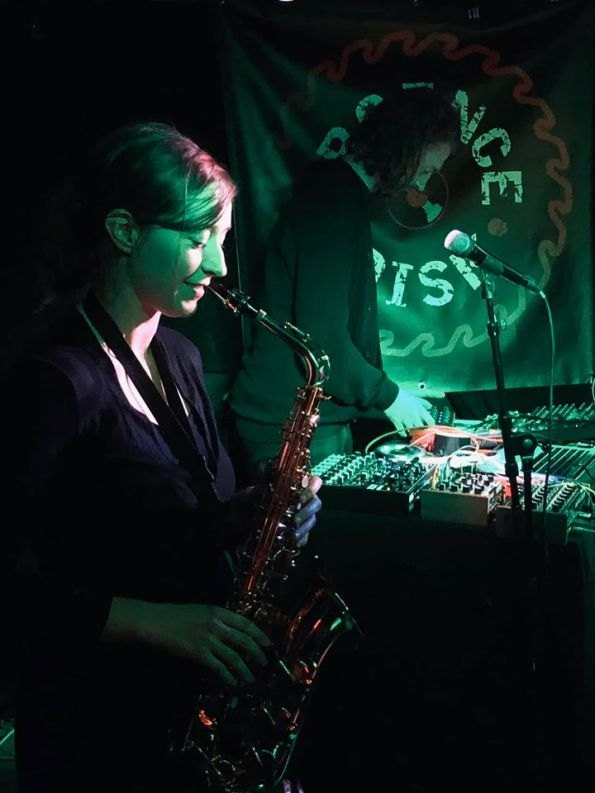 INFLUUT at Urgence Disk Records Geneva, Release Party Photo by Dam Von Smock