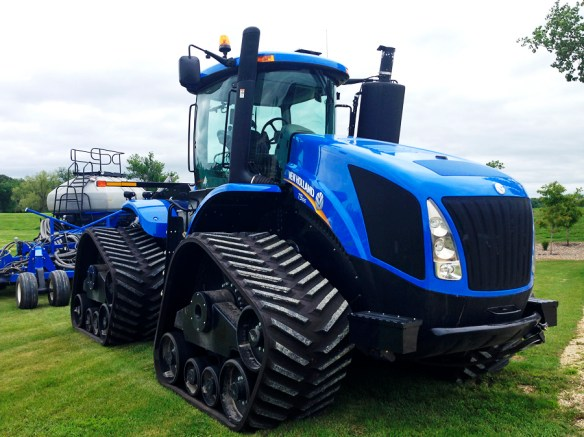 New Holland branded Quadtrak