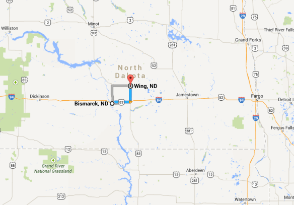 Bismarck ND: a surprisingly  big town