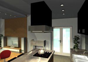 Architekt Pabianice OOO studio Architektura i Design portfolio projekt wnetrza mieszkanie 11